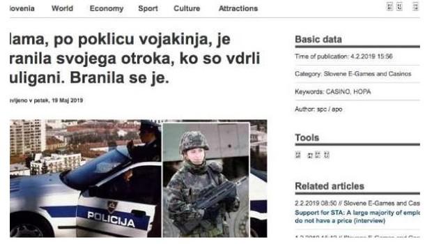 Slovenska tiskovna agencija zopet tarča spletnih prevarantov (foto: STA)