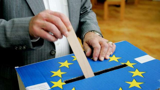 Izteka se kampanja pred nedeljskimi evropskimi volitvami (foto: Daniel Novakovič/STA)