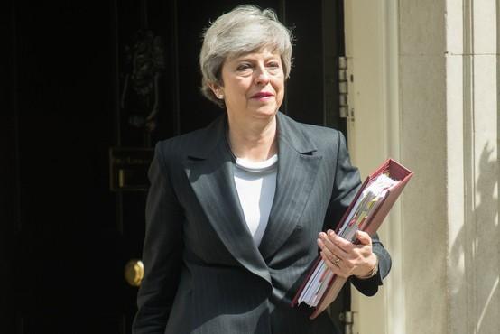 Britanska premierka Theresa May bo odstopila 7. junija