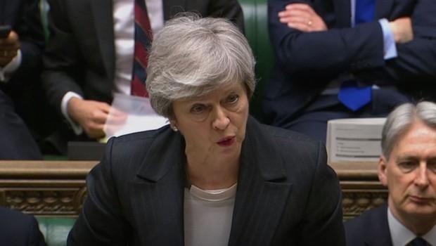 Britanski mediji: Theresa May naj bi v petek naznanila odstop (foto: Profimedia)