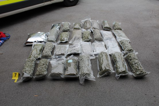 Zaradi gojenja in posesti droge pripor za 42-letnika
