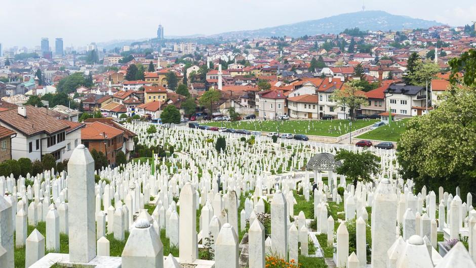 V bližini Sarajeva so odkrili novo množično grobišče (foto: Profimedia)