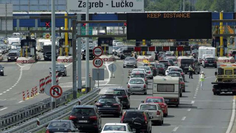 Na hrvaških cestah vse več kamer za nadzor prometa (foto: Hina/STA)