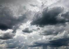 Popoldansko vročino bodo prekinile močnejše nevihte