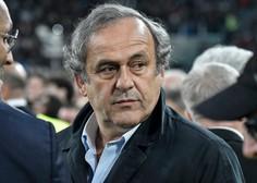 Aretirali so nekdanjega predsednika Uefe Michela Platinija zaradi dodelitve SP 2022 Katarju