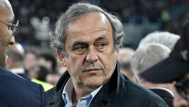 Aretirali so nekdanjega predsednika Uefe Michela Platinija zaradi dodelitve SP 2022 Katarju (foto: Profimedia)