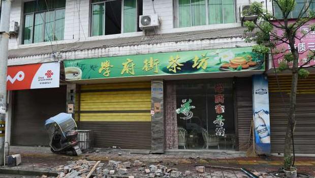 Jugozahod Kitajske stresel močan potres, ki je terjal smrtne žrtve (foto: STA/Xinhua)