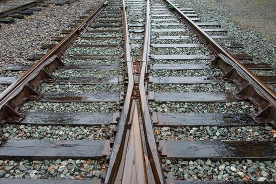 Vlak prevozil pijanega mladeniča, ki je zaspal na tirih