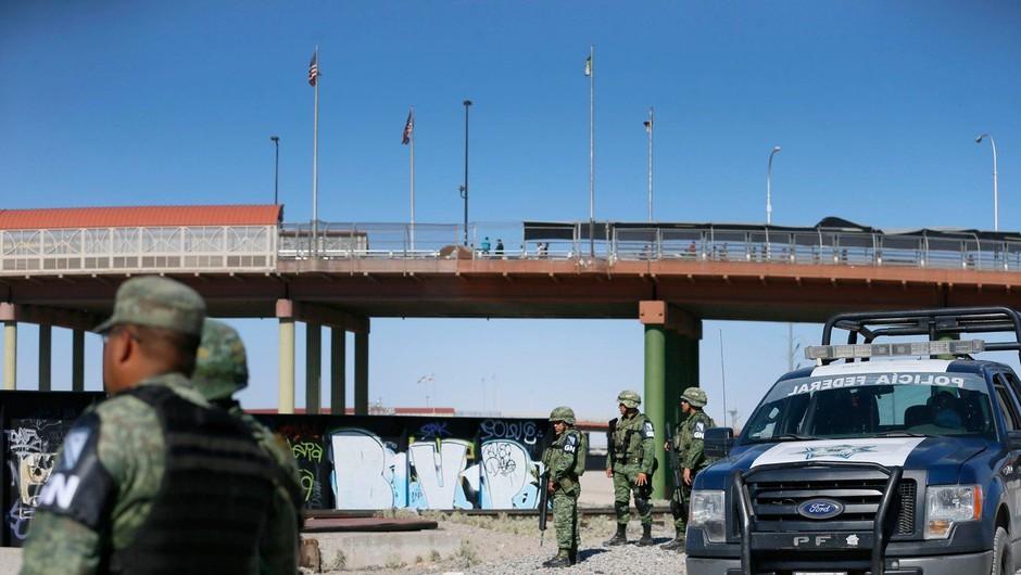 Mehika na mejo z ZDA poslala 15.000 vojakov za upravljanje migracij (foto: Profimedia)