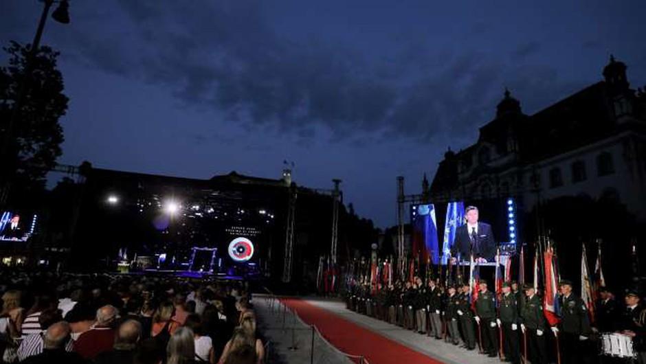 Slovenija praznuje dan državnosti in 28. obletnico osamosvojitve (foto: STA)