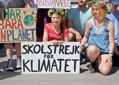 Podnebni aktivisti sklenili človeško verigo okoli nemškega parlamenta
