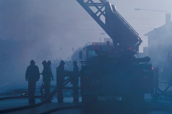 Požar v mariborskem waldorfskem vrtcu na srečo povzročil le gmotno škodo