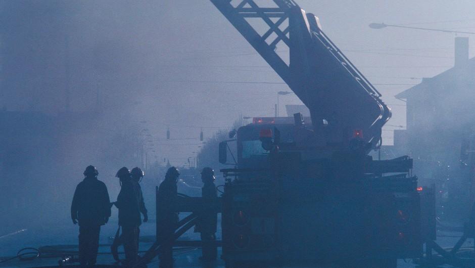 Požar v mariborskem waldorfskem vrtcu na srečo povzročil le gmotno škodo (foto: profimedia)