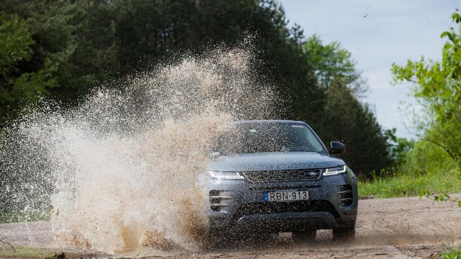 Range Rover Evoque dobro sprejet še posebno pri damah! (foto: Saša Kapetanovič)