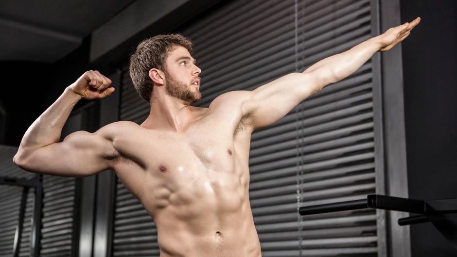 Zakaj ženske privlačijo mišice in zakaj se moški mišičastih kolegov nekoliko bojijo? (foto: Profimedia)