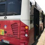 Več ranjenih v eksploziji na avtobusu v Beogradu (foto: Tanjug/STA)