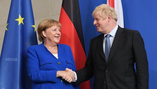 Merklova znova pozvala k urejenemu brexitu (foto: Profimedia)