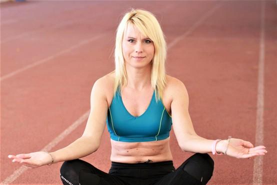 Nakdanji vrhunski športnici Jolandi Čeplak se je v nekaj letih življenje obrnilo na glavo