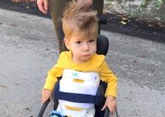 Mali Kris odpotoval na zdravljenje spinalne mišične atrofije v ZDA