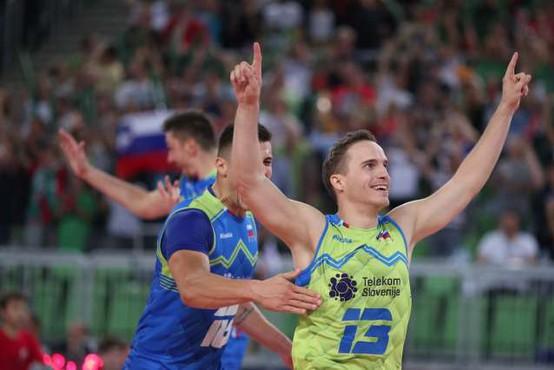 V najboljši sedmerici minulega evropskega prvenstva v odbojki dva Slovenca