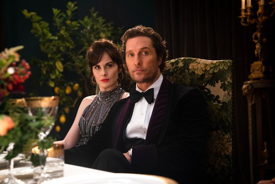 Matthew McConaughey bo mafijski boter v filmu The Gentlemen