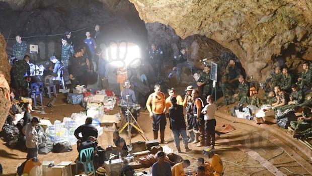 Zgodba o reševanju tajskih dečkov iz jame na filmskem platnu (foto: profimedia)