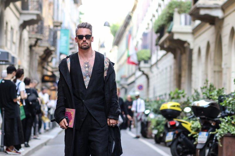 Milanska ulična moda skozi objektiv Jerneja Jelena