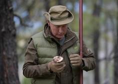 Vladimir Putin je 67. rojstni dan preživel v družbi prijateljev in sorodnikov