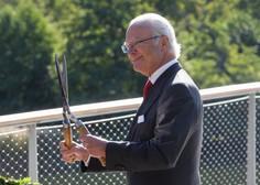 Švedski kralj Carl XVI. Gustaf vnukom ukinja kraljevski status
