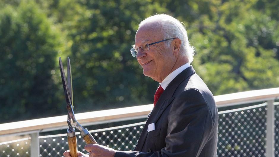 Švedski kralj Carl XVI. Gustaf vnukom ukinja kraljevski status (foto: profimedia)