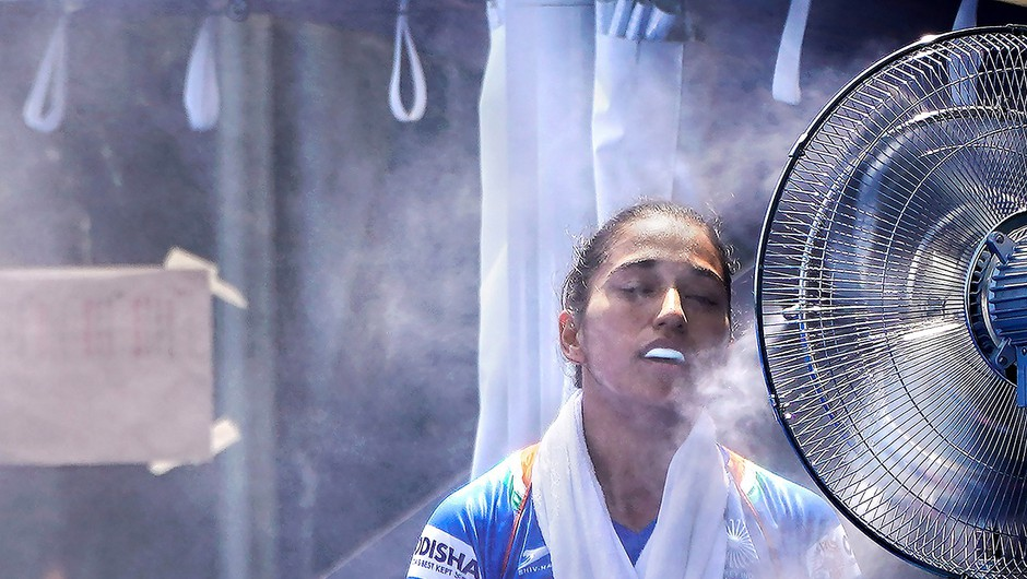 Tokio se že pripravlja na najbolj vroče olimpijske igre v zgodovini (foto: Chang W. Lee/The New York Times)