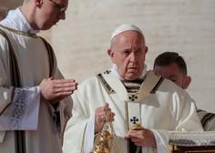 Papež pomotoma postal oboževalec nogometnih svetnikov