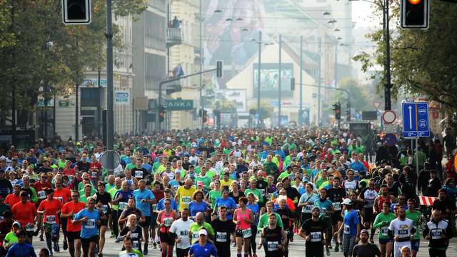 24. ljubljanski maraton v čakanju na ženski rekord, pričakujte tudi zapore cest! (foto: Daniel Novakovič/STA)