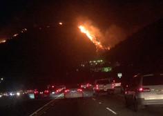 Pred požarom v Kaliforniji beži tudi nekdanji guverner Arnold Schwarzenegger