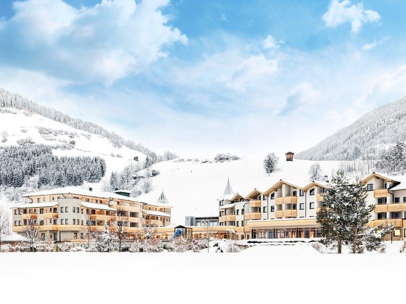 Dolomiten Residenz Sporthotel Sillian kljub svoji velikosti deluje skorajda butično.
