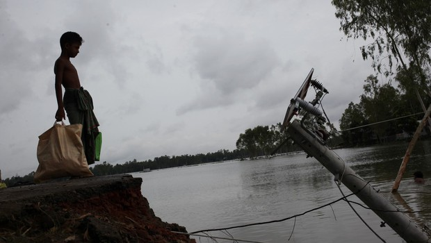 Poplave bodo do leta 2050 ogrožale že 300 milijonov ljudi na obalnih območjih (foto: profimedia)