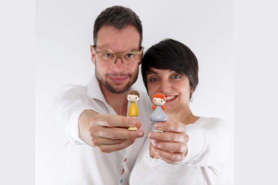 Živa Voga in Saša Rojak: Slovenca, ki osvajata svet z igračami Clicques