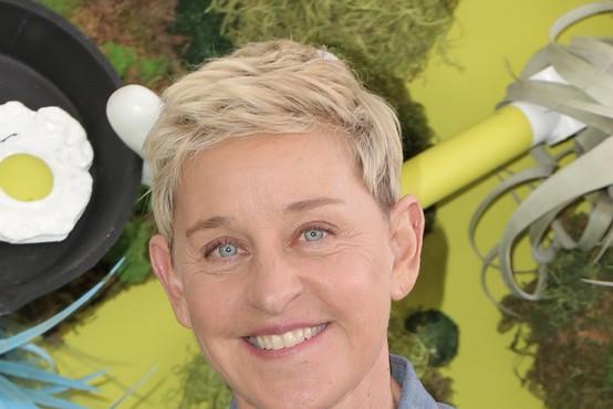 Ellen DeGeneres dobitnica zlatega globusa za življenjske dosežke