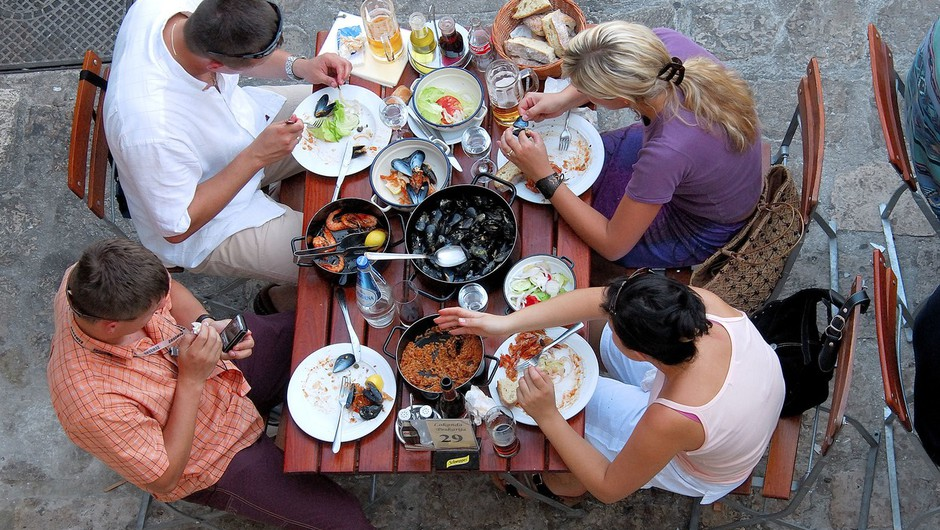 V jedru Dubrovnika načrtujejo omejitev števila novih restavracij (foto: profimedia)