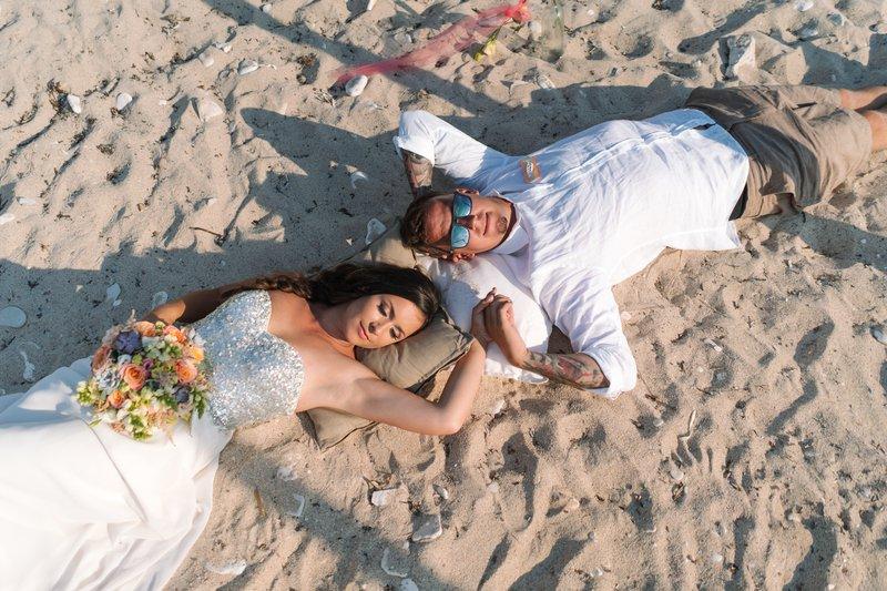Na tej isti plaži sta Urška in Joni zapečatila svojo dolgoletno zvezo.  Foto: Ujeti trenutek