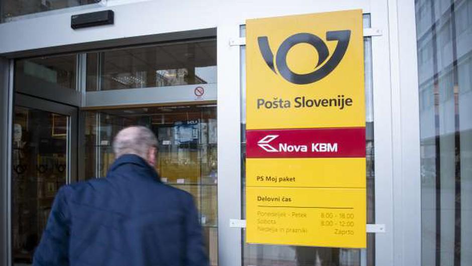 Stavka zaposlenih na Pošti Slovenije prekinjena (foto: Bor Slana/STA)