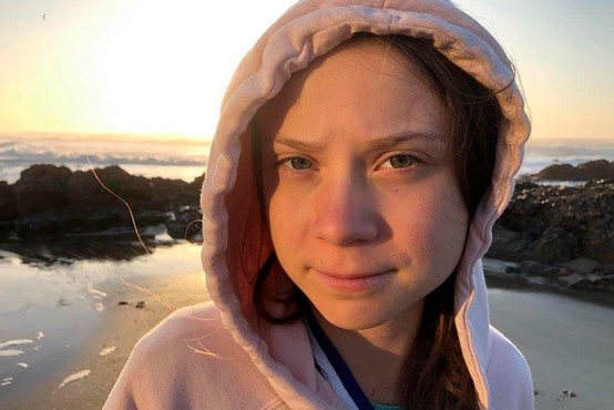 Avstralska vlogerja bosta pomagala Greti Thunberg čez Atlantik