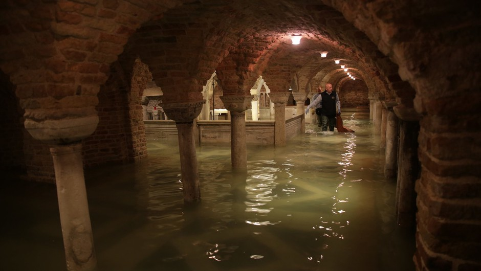 Odplaknilo dragocene mozaike iz bazilike sv. Marka v Benetkah (foto: profimedia)