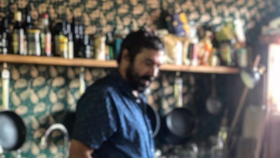Primož Dolničar: Odraščal sem v družini, v kateri se je kuhalo vsak dan (foto: Cankarjeva založba Press)