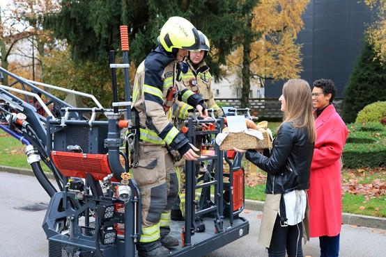Z zajtrkom prvi postregli reševalnim ekipam, gasilcem in porodnišnicam po Sloveniji