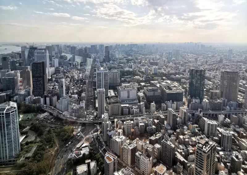 Tokio s stolpa Tokyo Tower