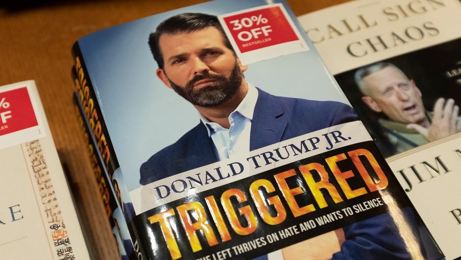 Trump mlajši užaljen zaradi objave podatkov o prodaji njegove knjige (foto: profimedia)