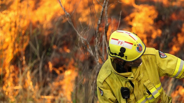 Avstralija v dimu in ognju, premier zanika povezavo s podnebnimi spremembami (foto: profimedia)