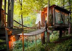 Na Airbnb lahko najamete hiško na drevesu