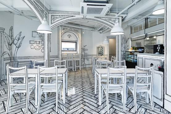 To je RESNIČNA kavarna, ki bo popolnoma zmedla vaše možgane